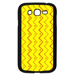 Yellow Background Abstract Samsung Galaxy Grand Duos I9082 Case (black)