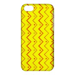 Yellow Background Abstract Apple Iphone 5c Hardshell Case