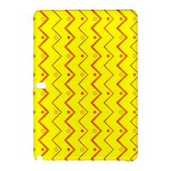 Yellow Background Abstract Samsung Galaxy Tab Pro 12 2 Hardshell Case