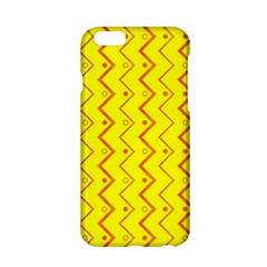 Yellow Background Abstract Apple Iphone 6/6s Hardshell Case