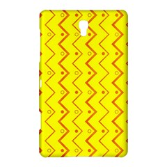 Yellow Background Abstract Samsung Galaxy Tab S (8 4 ) Hardshell Case
