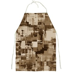 Color Abstract Background Textures Full Print Aprons