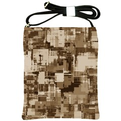 Color Abstract Background Textures Shoulder Sling Bags