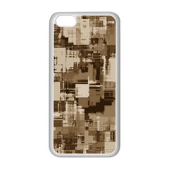 Color Abstract Background Textures Apple Iphone 5c Seamless Case (white)