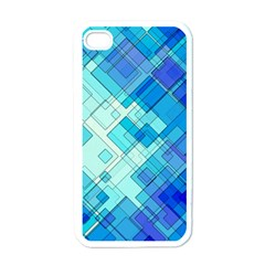 Abstract Squares Arrangement Apple Iphone 4 Case (white)
