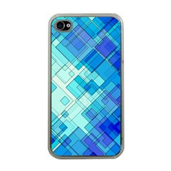 Abstract Squares Arrangement Apple Iphone 4 Case (clear)