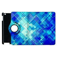 Abstract Squares Arrangement Apple Ipad 3/4 Flip 360 Case