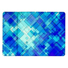 Abstract Squares Arrangement Samsung Galaxy Tab 10 1  P7500 Flip Case