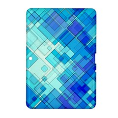 Abstract Squares Arrangement Samsung Galaxy Tab 2 (10 1 ) P5100 Hardshell Case
