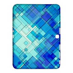 Abstract Squares Arrangement Samsung Galaxy Tab 4 (10 1 ) Hardshell Case