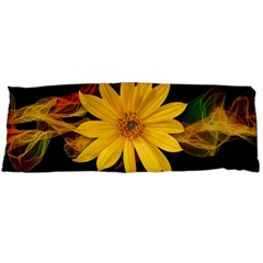 Sun Flower Blossom Bloom Particles Body Pillow Case Dakimakura (two Sides)