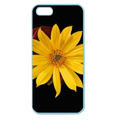 Sun Flower Blossom Bloom Particles Apple Seamless Iphone 5 Case (color)