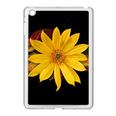 Sun Flower Blossom Bloom Particles Apple Ipad Mini Case (white)