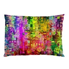 Color Abstract Artifact Pixel Pillow Case (two Sides)