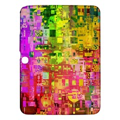 Color Abstract Artifact Pixel Samsung Galaxy Tab 3 (10 1 ) P5200 Hardshell Case