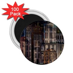 Architecture City Home Window 2 25  Magnets (100 Pack)