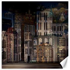 Architecture City Home Window Canvas 12  X 12
