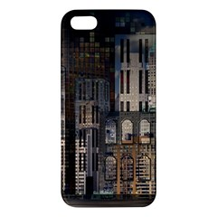 Architecture City Home Window Apple Iphone 5 Premium Hardshell Case