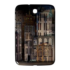 Architecture City Home Window Samsung Galaxy Note 8 0 N5100 Hardshell Case