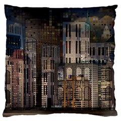 Architecture City Home Window Standard Flano Cushion Case (one Side)