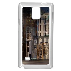 Architecture City Home Window Samsung Galaxy Note 4 Case (white)