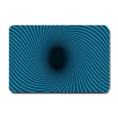 Background Spiral Abstract Pattern Small Doormat
