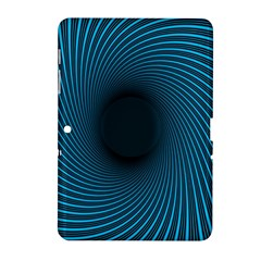 Background Spiral Abstract Pattern Samsung Galaxy Tab 2 (10 1 ) P5100 Hardshell Case  by Nexatart