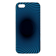 Background Spiral Abstract Pattern Iphone 5s/ Se Premium Hardshell Case