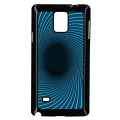 Background Spiral Abstract Pattern Samsung Galaxy Note 4 Case (black)