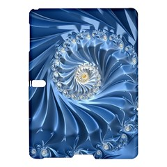 Blue Fractal Abstract Spiral Samsung Galaxy Tab S (10 5 ) Hardshell Case