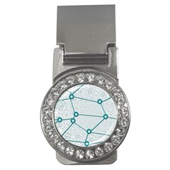Network Social Abstract Money Clips (cz)