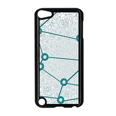 Network Social Abstract Apple Ipod Touch 5 Case (black)