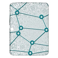 Network Social Abstract Samsung Galaxy Tab 3 (10 1 ) P5200 Hardshell Case