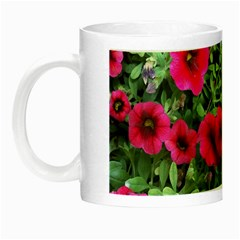 Pink Petunias Night Luminous Mugs