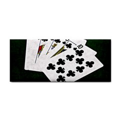 Poker Hands   Royal Flush Clubs Hand Towel