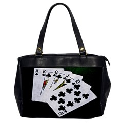 Poker Hands   Royal Flush Clubs Office Handbags