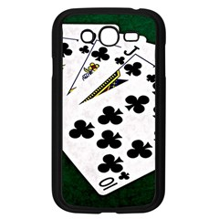 Poker Hands   Royal Flush Clubs Samsung Galaxy Grand Duos I9082 Case (black) by FunnyCow