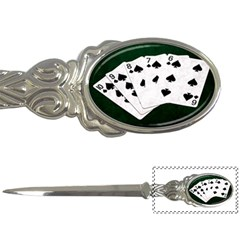 Poker Hands Straight Flush Spades Letter Openers