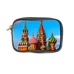 Moscow Kremlin And St  Basil Cathedral Coin Purse