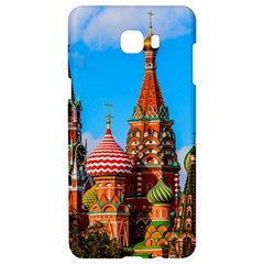 Moscow Kremlin And St  Basil Cathedral Samsung C9 Pro Hardshell Case