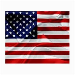 American Usa Flag Small Glasses Cloth (2 Side)
