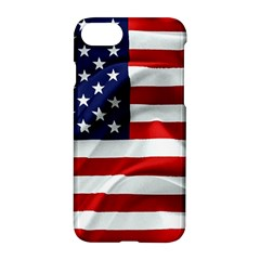 American Usa Flag Apple Iphone 7 Hardshell Case