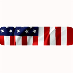 American Usa Flag Vertical Large Bar Mats