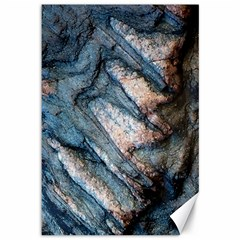 Earth Art Natural Rock Grey Stone Texture Canvas 12  X 18
