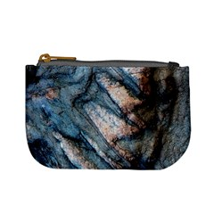 Earth Art Natural Rock Grey Stone Texture Mini Coin Purses