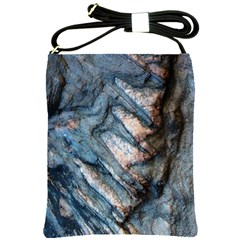 Earth Art Natural Rock Grey Stone Texture Shoulder Sling Bags