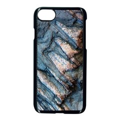 Earth Art Natural Rock Grey Stone Texture Apple Iphone 7 Seamless Case (black) by CrypticFragmentsDesign