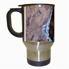 Earth Art Natural Texture Salt Of The Earth Travel Mugs (white)