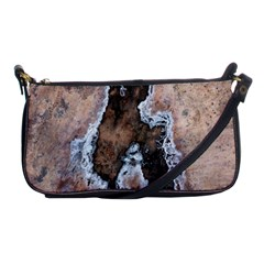 Earth Art Natural Texture Salt Of The Earth Shoulder Clutch Bags