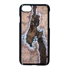 Earth Art Natural Texture Salt Of The Earth Apple Iphone 7 Seamless Case (black) by CrypticFragmentsDesign